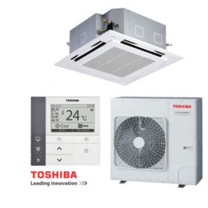 Máy lạnh âm trần TOSHIBA RAV-130ASP-V / RAV-130USP-V (1.5 HP, gas R410a)